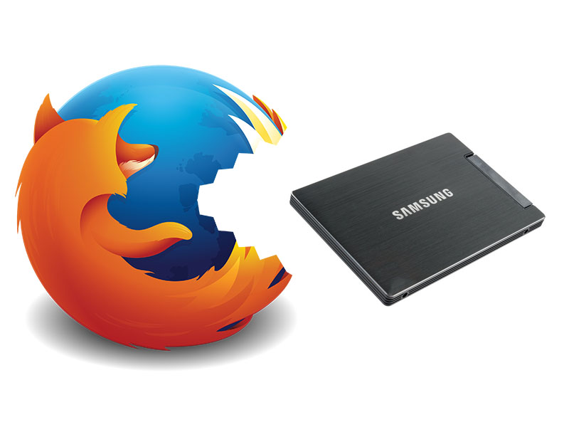 Mozilla Firefox Eating SSD
