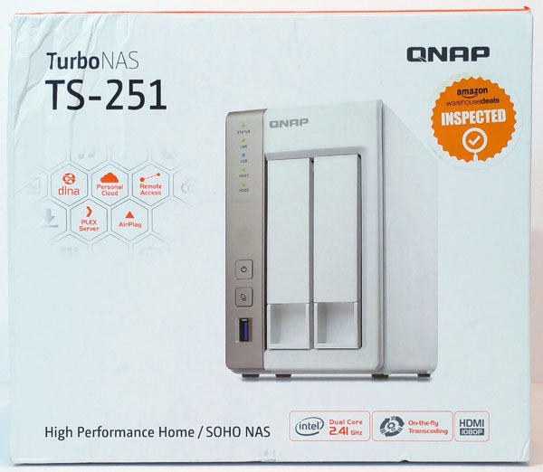 qnap-ts-251-retail-box-front - ServeTheHome