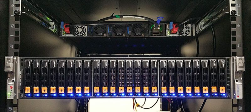 Supermicro 2U Ultra Server 24x NVMe in Rack SYS-2028U-TN24RT+