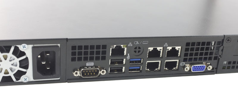 Supermicro 5018A-LTN4 drive and PCIe