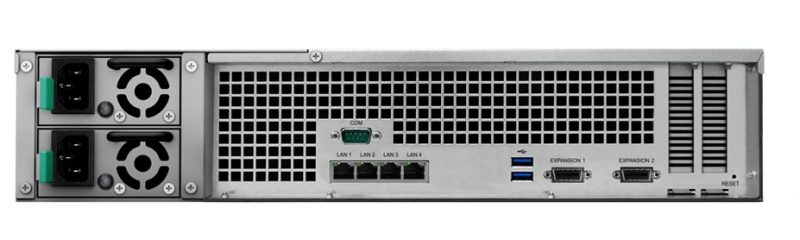 Synology RS3617RPxs Rear