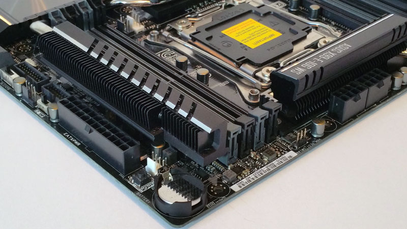 ASUS X99 E 10G WS Workstation Motherboard Power Connectors