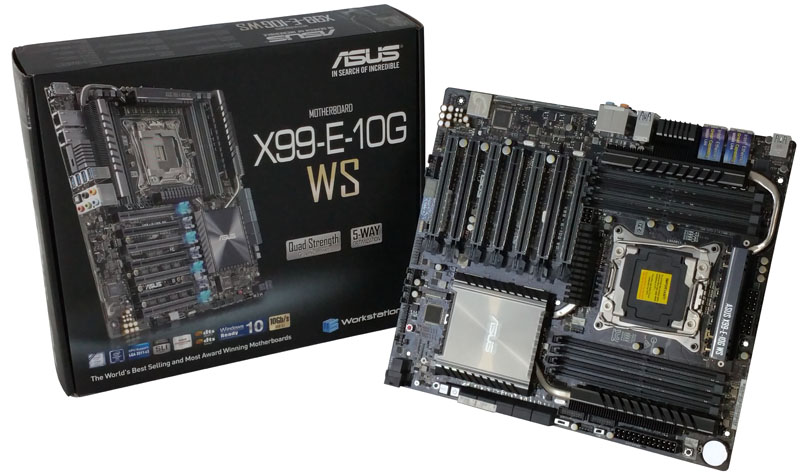 ASUS X99-E-10G WS Motherboard Review - 10Gbase-T networking