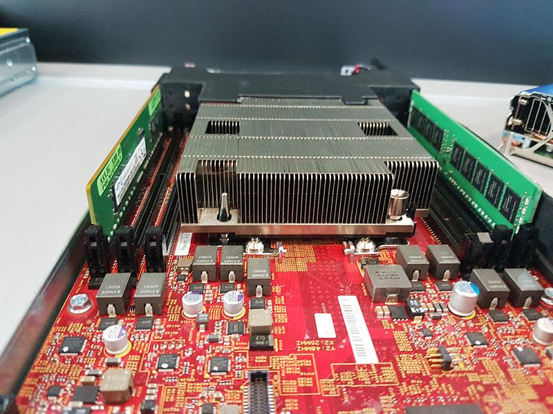 Dell EMC 4N2U KNL Heatsink