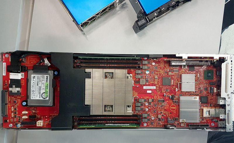 Dell EMC 4N2U KNL System Sled