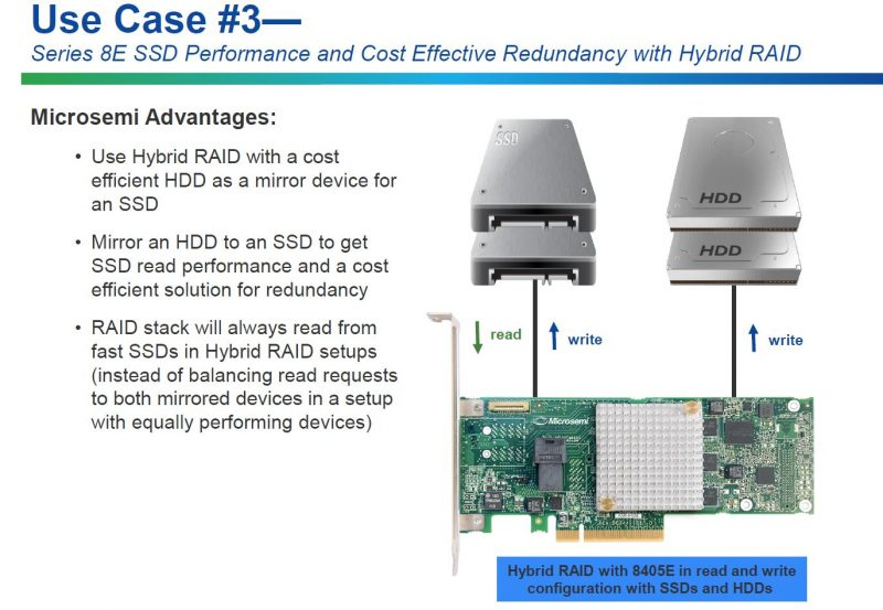 Microsemi 8E Series RAID Adapters Use Case 3