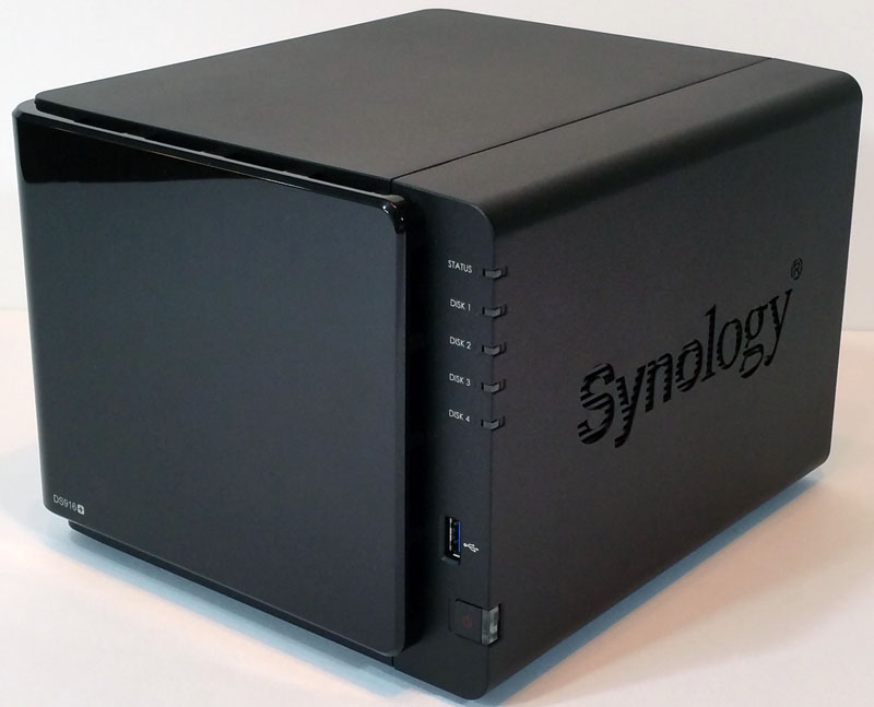 Synology DS916 Three Quarter View