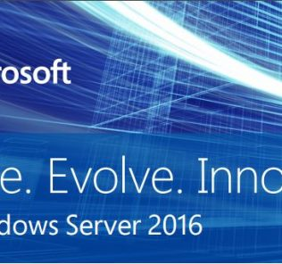 Windows Server 2016 Tagline