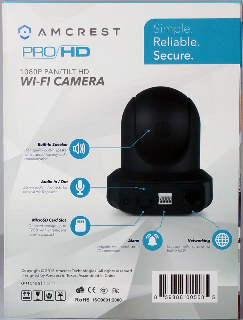 AMCREST 1080 HD Pro WiFi Camera 15