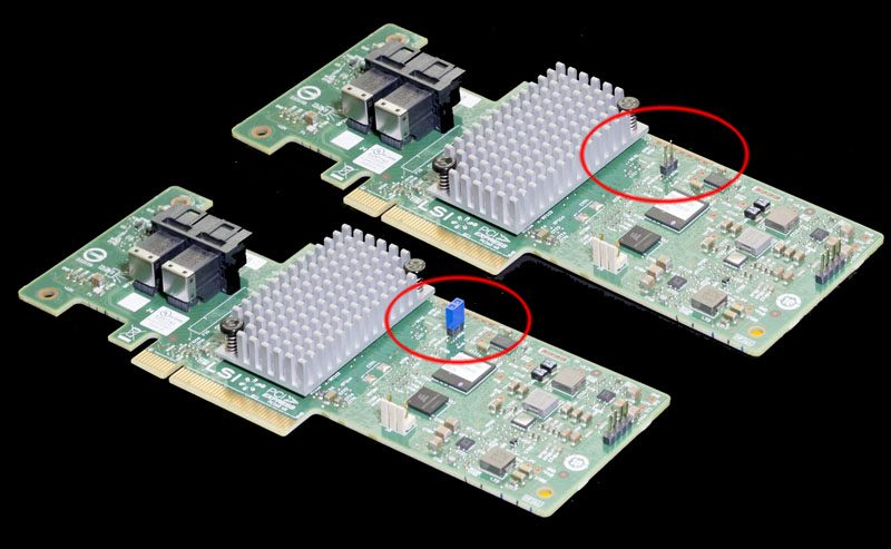 How to flash a LSI SAS 3008 HBA (e g  IBM M1215) to IT mode