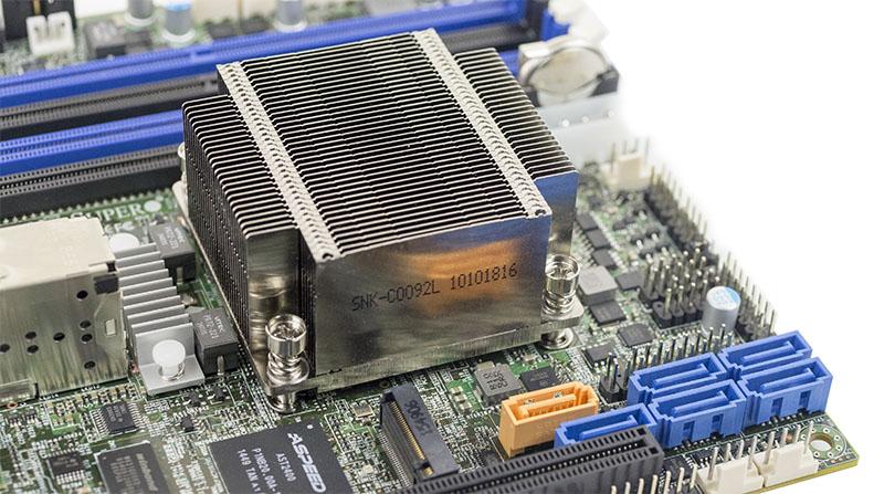 Intel Xeon D 1557 Heatsink