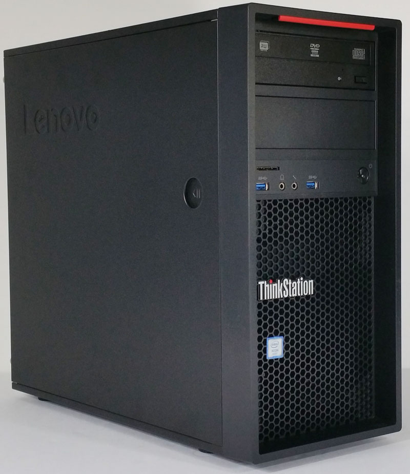 Lenovo ThinkStation P410 Quarter View