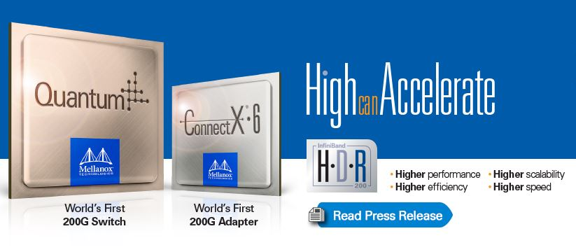 Mellanox HDR Launch
