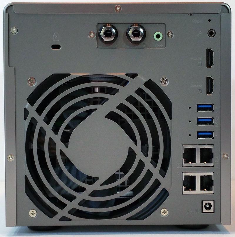 QNAP TS 453A Back