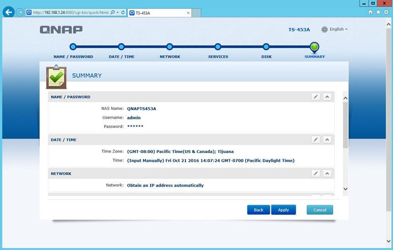 QNAP TS 453A Installation 14