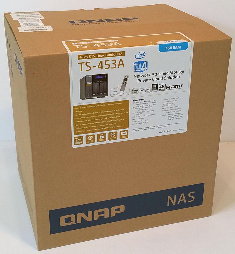 QNAP TS 453A Retail Box