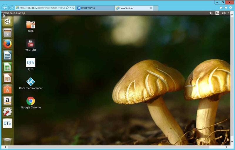 QNAP TS 453A Ubuntu Deskto