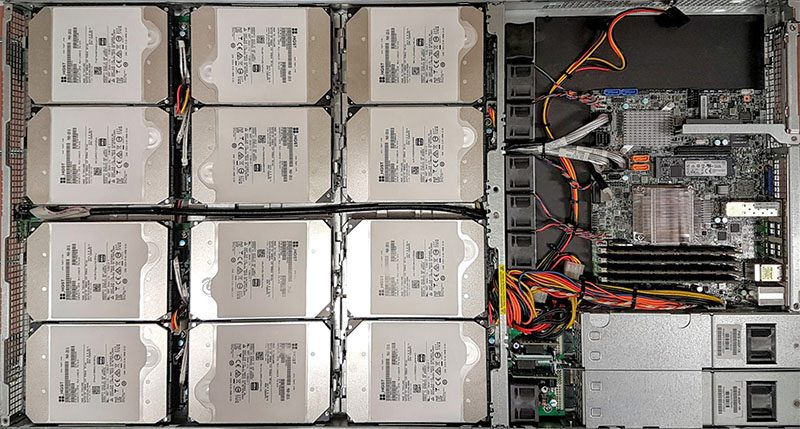 Supermicro HGST 120TB 1U Intel Xeon D 1537 Server Internal 1