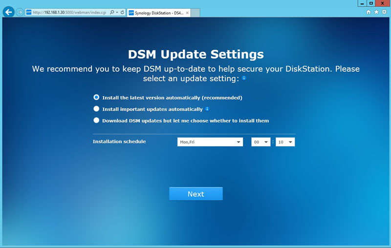 Synology DS416j Installation 4