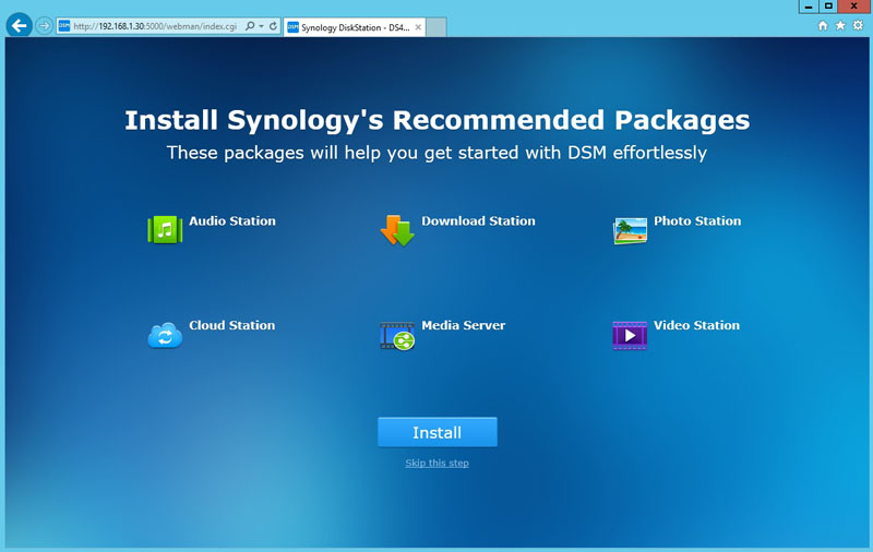 Synology DS416j Installation 6