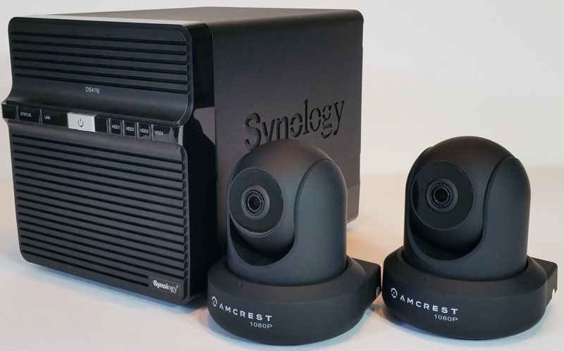 Synology DS416j Surveillance Station with Amcrest 1080P Wi ...