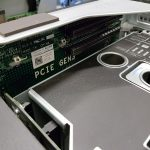 Dell PowerEdge R930 PCIe Expansion Above PSUs Installed Empty