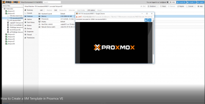 How To Create A VM Template In Proxmox VE