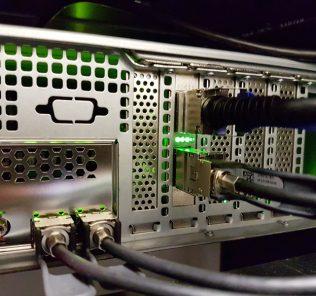 QSFP To SFP Converter In Mellanox ConnectX 3 Pro EN