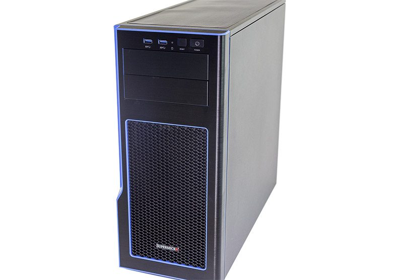 Supermicro SYS 5038K I ES1 Front Three Quarters