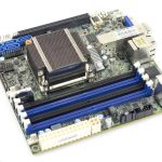 Supermicro X10SDV 12C TLN4F DIMM Heatsink SFP Cage