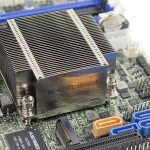 Supermicro X10SDV 12C TLN4F Heatsink And SATA