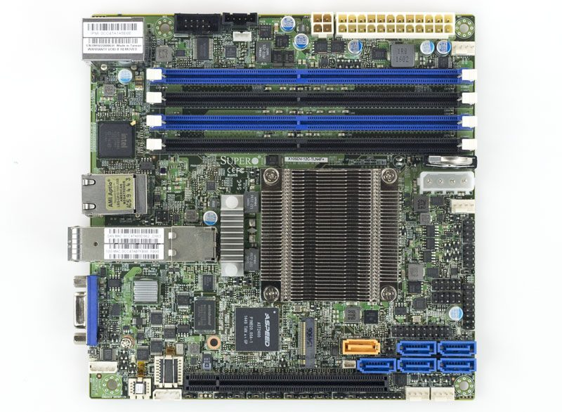 Supermicro X10SDV 12C TLN4F Overview