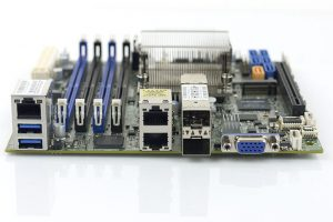 Supermicro X10SDV 12C TLN4F Rear IO
