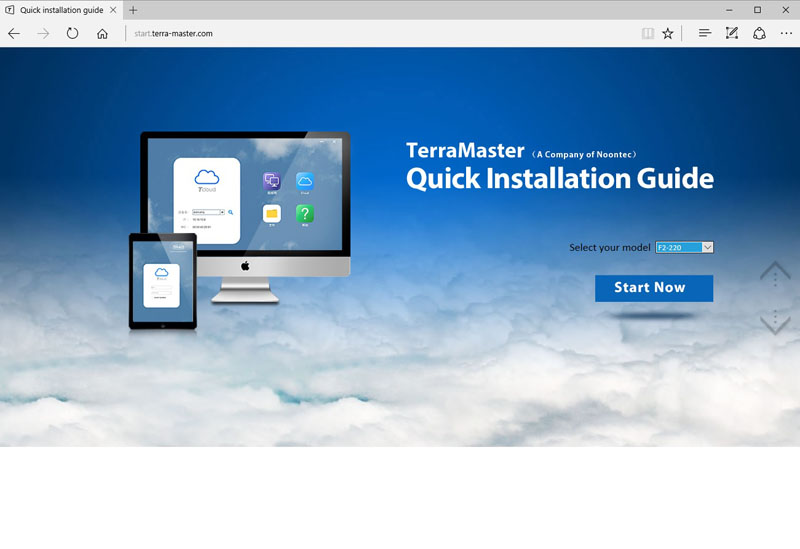 TerraMaster F2 220 Quick Installation Guide 1