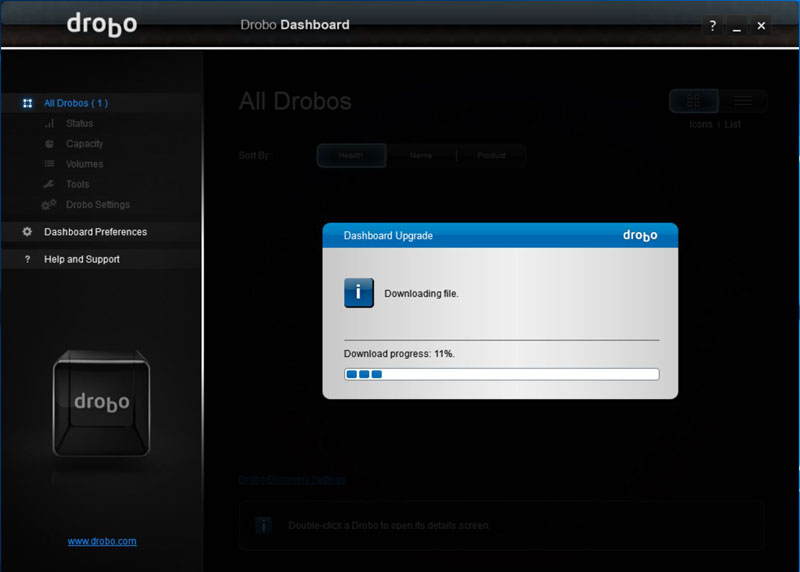 Drobo 5C Dashboard #4