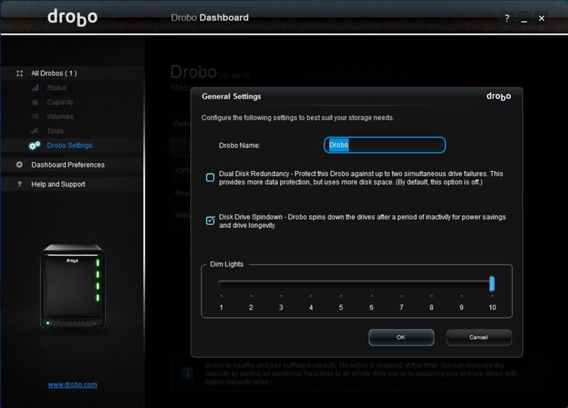 Drobo 5C Dual Disk Redundancy #1