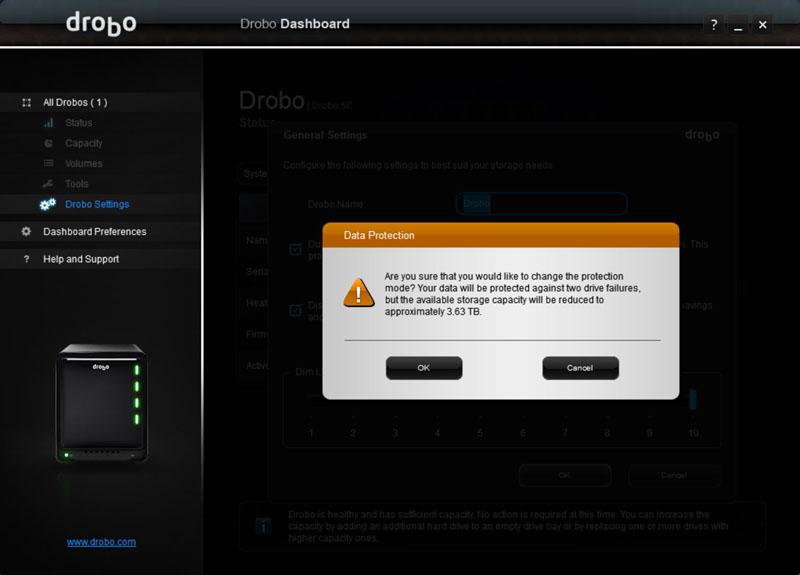 Drobo 5C Dual Disk Redundancy #2