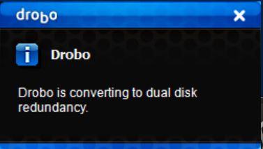 Drobo 5C Dual Disk Redundancy #3