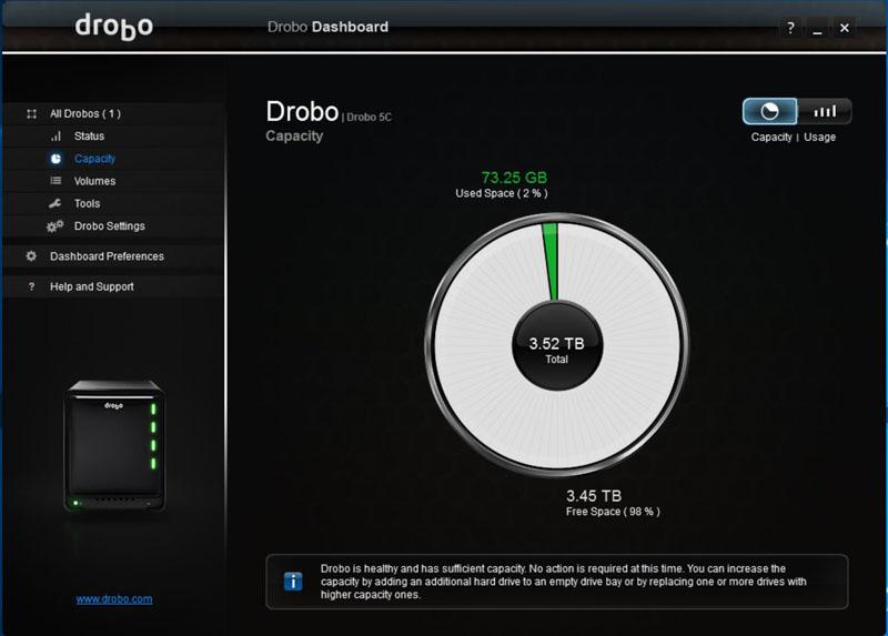 Drobo 5C Dual Disk Redundancy #5