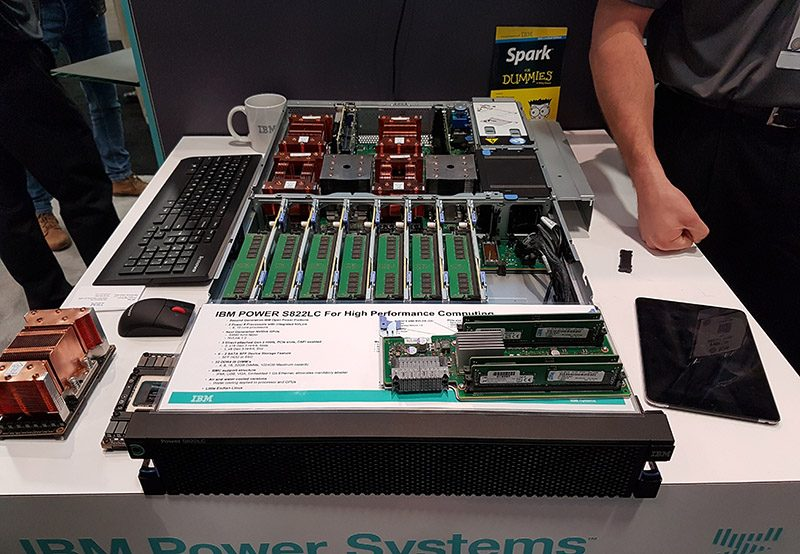 IBM Power S822LC With NVIDIA Pascal P100 NVLINK