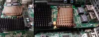 Interface Masters 10Gbase T Plastic Heatsink Clip Failure