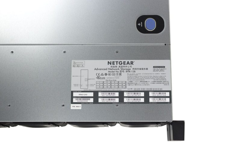 Netgear ReadyNAS RR4312X0 MAC SN Model