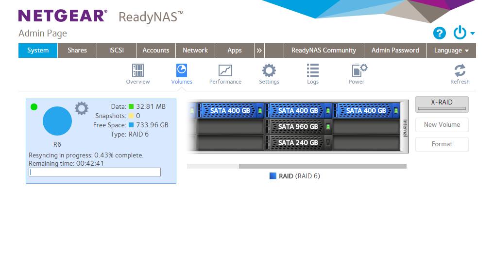 Netgear ReadyNAS 6.6 CLI Debian Jessie