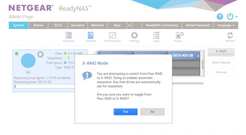 Netgear RedayNAS X RAID