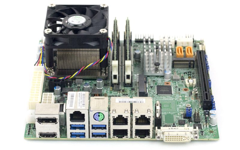 Supermicro X11SSV M4 Rear IO