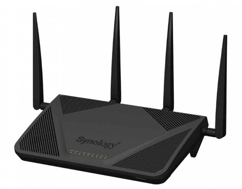 Synology Router RT2600ac Front