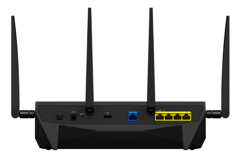 Synology Router RT2600ac Rear