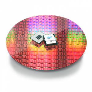 Intel Xeon E7 8800 V4 On Wafer