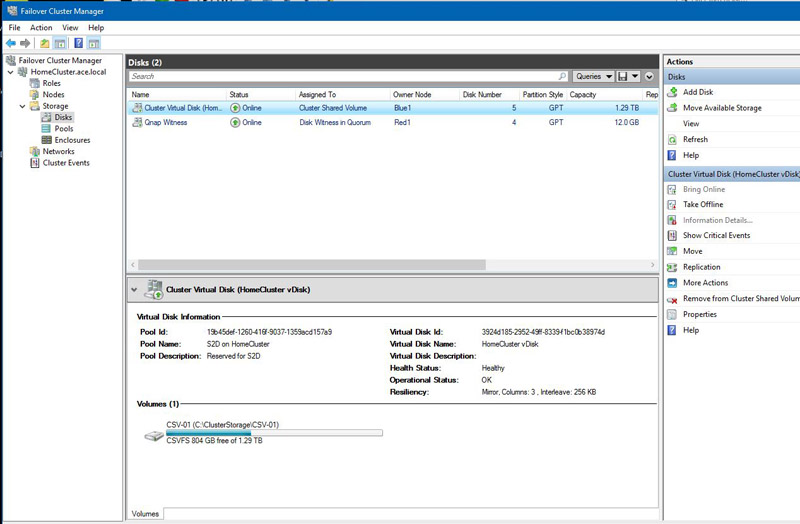 Storage Spaces Direct Intel Xeon E5 2658 V4 Node