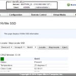 Supermicro Big Twin IPMI Management NVMe SSD Health